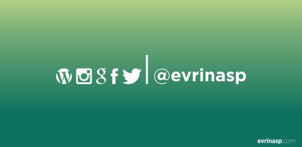 #Pengumuman: Perubahan Alamat Akun Twitter @evrinasp