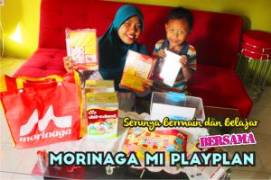 Bermain dan Belajar Bersama Morinaga MI PlayPlan