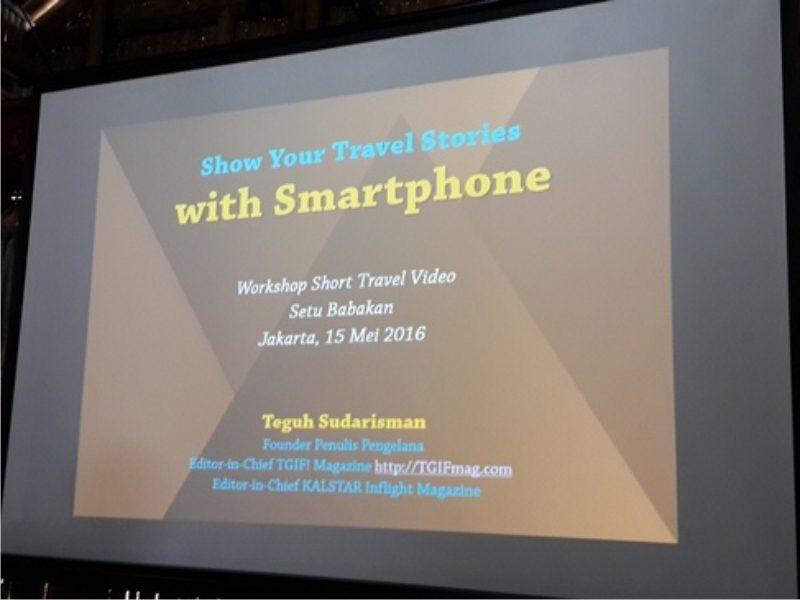 Belajar Membuat Video Perjalanan