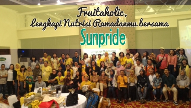 Fruitaholic, Lengkapi Nutrisi Ramadhan Mu