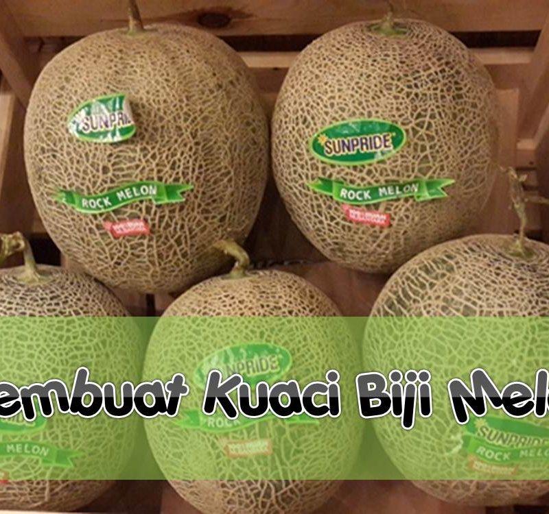 Membuat Kuaci Biji Melon