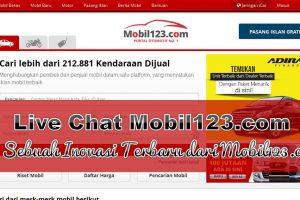 Live Chat Mobil123.com, Sebuah Inovasi Terbaru dari Mobil123.com