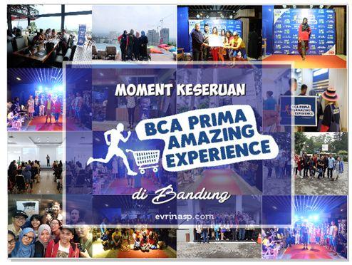 Moment Keseruan BCA Prima Amazing Experience di Bandung