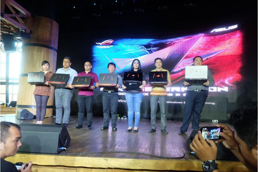 Peluncuran ASUS ROG GL702 dan GL553 Notebook Gaming dengan Performa Tinggi
