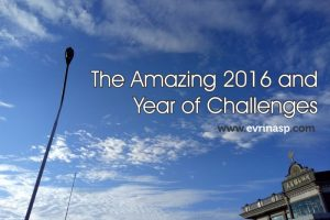 The Amazing 2016 and Year of Challenges