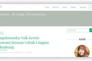 Lebih Dekat dengan Milda Ini, Blogger dan Penulis dari Bengkulu
