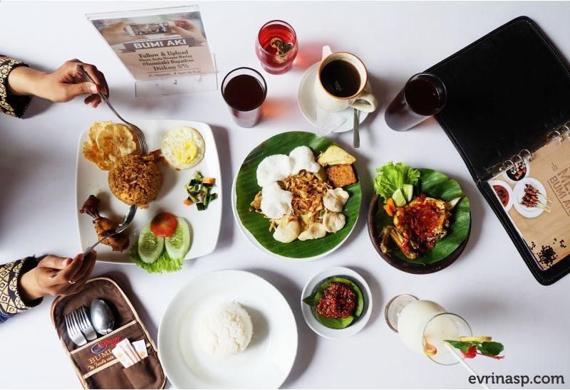 Menikmati Cita Rasa Restoran Sunda di Bumi Aki