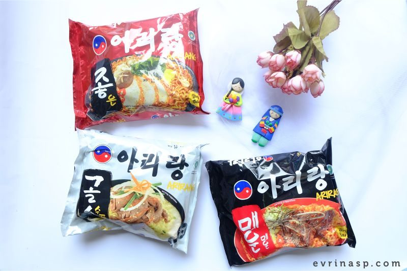 Korean Noodle Arirang, Bikin Ketagihan!