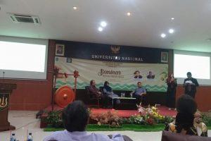 Seminar Wisata Halal Trend Baru Indonesia, Himapar Universitas Nasional