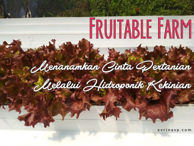 Fruitable Farm, Menanamkan Cinta Pertanian Melalui Hidroponik Kekinian