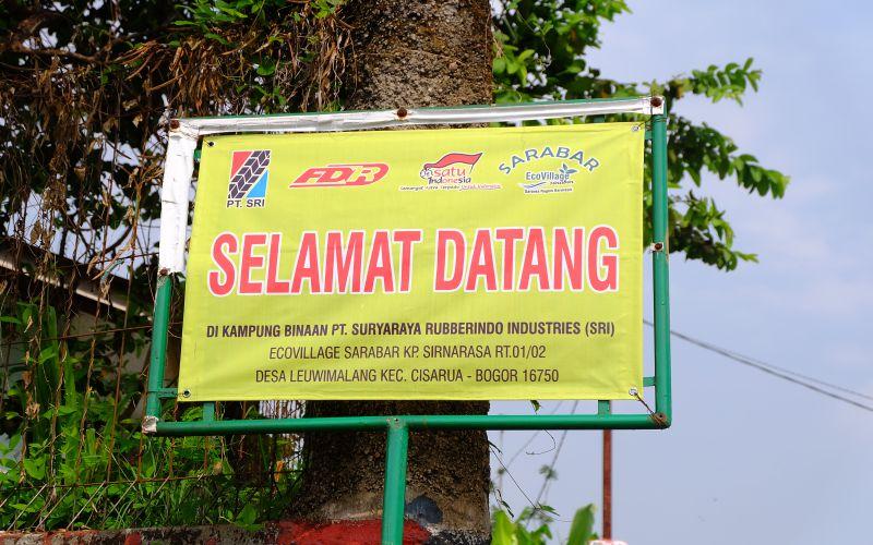 Kampung Hijau Ecovillage Sarabar, Ciptakan Lingkungan Bersih dalam Kebersamaan