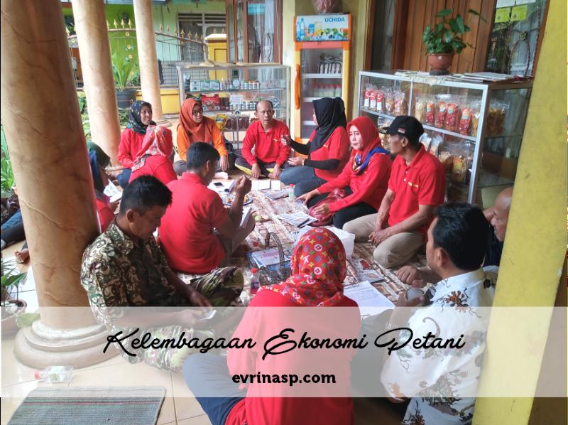 Kelembagaan Ekonomi Petani (KEP)Sebagai Tonggak Usaha Perekonomian Petani di Tingkat Desa