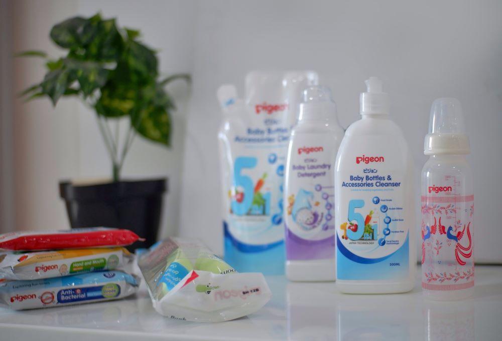 Pigeon Liquid Cleanser untuk Perlengkapan ASIP yang Bersih dan Aman