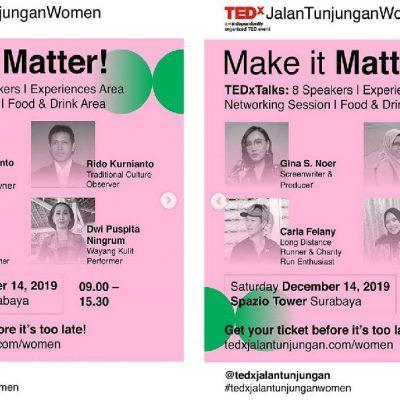 Pengalaman Menjadi Live Speaker di TEDxJalanTunjunganWomen