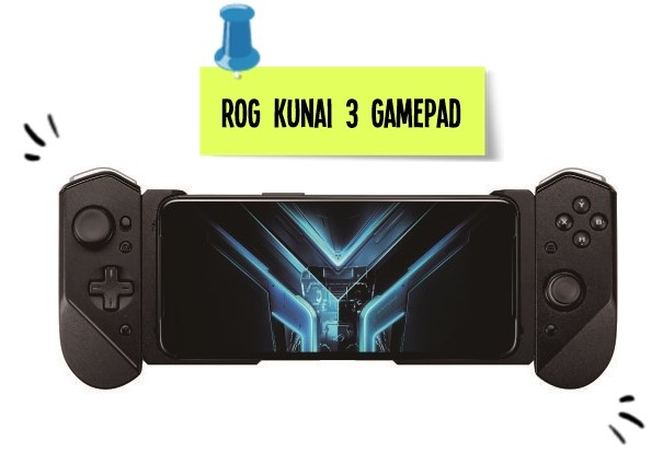 rog kunai game pad