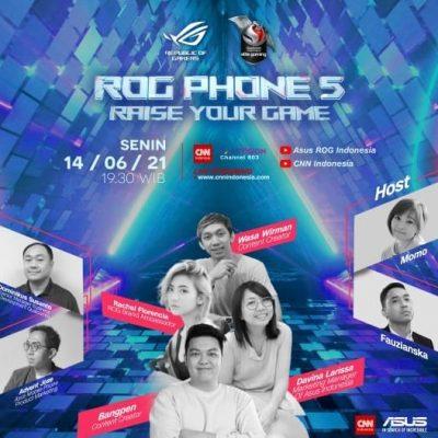 Jelang Launching ROG Phone 5 Series
