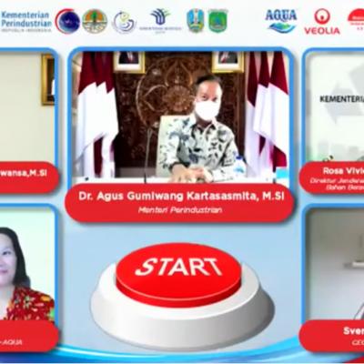 Dukungan Danone-AQUA untuk Indonesia Hijau, Bersama Veolia Indonesia Bangun Pabrik Daur Ulang Botol Plastik